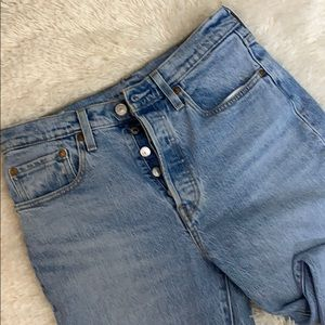Levi's 501 Skinny Button Fly Premium Jeans 27